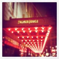 Photo taken at Palmer House - A Hilton Hotel by John L. on 2/1/2012