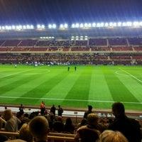 Photo taken at Riverside Stadium by Matty B. on 9/28/2011