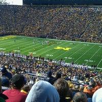 Photo taken at Michigan Stadium by James D. on 10/1/2011