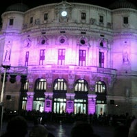 Photo taken at Teatro Arriaga by Miguel C. on 2/21/2012