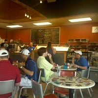 Photo taken at Bloomington Bagel Company by Kristina S. on 7/16/2011