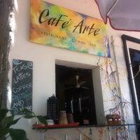 Photo taken at Cafe Arte by Arabela G. on 5/20/2012