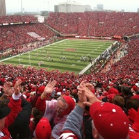 Photo taken at Memorial Stadium by Katie M. on 9/17/2011