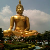 Photo taken at Wat Muang by Songwut K. on 3/7/2012