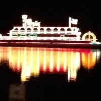 Photo taken at Cuero's Christmas in the Park by Robin F. on 12/21/2011