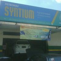 Photo taken at TRT WORKSHOP & TYRE SERVICESGp by Poji P. on 1/16/2012