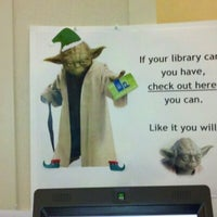 Photo taken at Tuckahoe Library by Leslie H. on 12/17/2011
