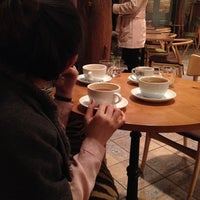 Photo taken at daily coffee 121 by Y. j. on 3/2/2012