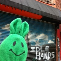 Photo taken at Idle Hands Bar by greenie m. on 5/14/2012