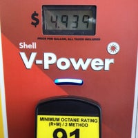 Photo taken at Shell by Sean M. on 5/30/2012