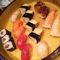 Photo taken at Sushi Yasuda by Zeynep T. on 9/13/2012