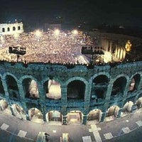 Photo taken at Arena di Verona by Giorgio R. on 8/3/2011