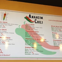 Photo taken at Anaheim Chili by Anoop R. on 1/3/2012