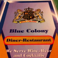 Photo taken at Blue Colony Diner by Lynn L. on 8/5/2011
