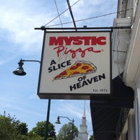 Photo taken at Mystic Pizza by Marsh S. on 8/25/2012
