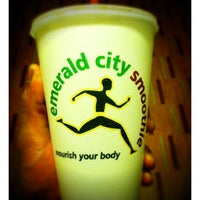 Photo taken at Emerald City Smoothie by Hugh G. on 2/28/2012