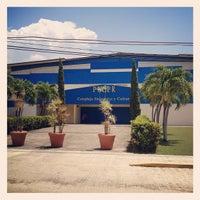 Photo taken at Pontificia Universidad Católica De Puerto Rico by Julio B. on 3/28/2012