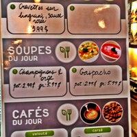 Photo taken at Café Santé Veritas by Jessie D. on 6/14/2012