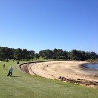 Photo taken at Club de Golf La Toja by Elisa L. on 8/3/2012