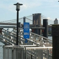 Photo taken at NY Waterway Ferry - Wall St/Pier 11 Terminal by Dean M. on 8/26/2012