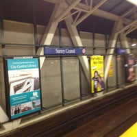 Photo taken at Surrey Central Station by Robbie G. on 3/30/2012