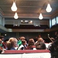 Photo taken at Philharmonie by Emma v. on 2/17/2012