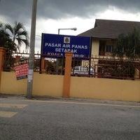 Photo taken at Pasar Air Panas by Tzan Jiun C. on 3/7/2012