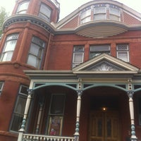 Photo taken at The Lumber Baron Inn and Gardens by Joel E. on 4/18/2012