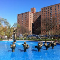 Photo taken at Metropolitan Oval by fromTheBronx 4sq Page on 4/4/2012