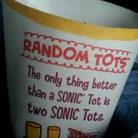 Photo taken at Sonic Drive-In by Melissa on 6/4/2012