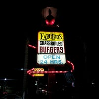 Photo taken at Fabulous Charbroiled Burgers #1 by Will H. on 7/14/2012