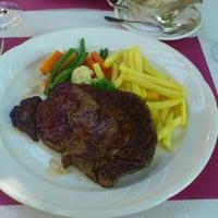 Photo taken at Restaurant Hotel Rössli by Ralf W. on 9/6/2012