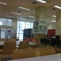 Photo taken at Communication Arts Library by Nitchamon C. on 9/28/2011