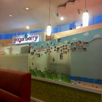 Photo taken at Yogurberry by Noudy K. on 8/18/2011