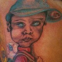 Photo taken at Elle Sparks Tattoos by Elle S. on 11/20/2011