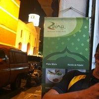 Photo taken at Restaurante Pizza Zeina by Raul G. on 6/19/2012
