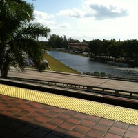 Photo taken at MDT Metrorail - Dadeland North Station by Brian J. on 1/30/2012