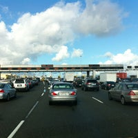 Photo taken at Bay Bridge Toll Plaza by RuLaZ L. on 4/11/2012
