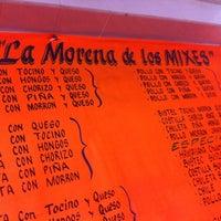 Photo taken at Taqueria La Morena de los Mixes by Luis R. on 6/24/2012