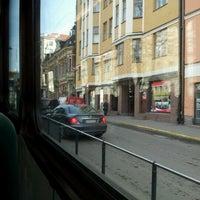 Photo taken at HSL Raitiolinja 10 by Rita on 3/28/2012