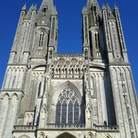 Photo taken at Cathédrale Notre-Dame de Coutances by Geert H. on 7/22/2012