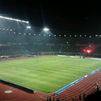 Photo taken at Stadion Gelora Bung Tomo by Totelez on 5/19/2012