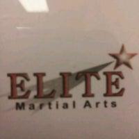 Photo taken at Elite Martial Arts by Christina M. on 5/15/2012