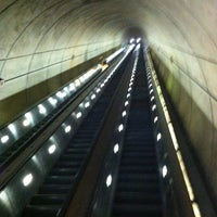 Photo taken at Wheaton Metro Station by Dave H. on 8/25/2012