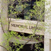 Photo taken at Memorial Library by UW-Madison on 8/29/2011
