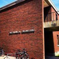 Photo taken at Dolve Hall - NDSU by Jake S. on 5/9/2012