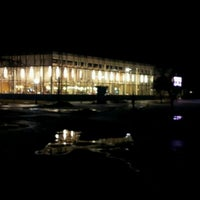 Photo taken at Father John Dean Dining Hall by Chris B. on 1/28/2012
