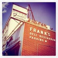 Photo taken at Franks Deli & Restaurant by Staci on 8/22/2011