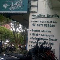 Photo taken at Al - Fath Griya Busana Muslim by Andy K. on 1/15/2012