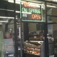 Photo taken at Market on Spring by @webjoe on 4/3/2011